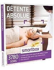 SMARTBOX - Coffret Cadeau - DÉTENTE ABSOLUE - 3780 soins : modelage du corps, soin du visage, accès au spa…