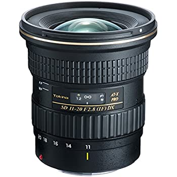 Tokina 11-20 mm / F 2,8 AT-X PRO DX Objectifs 11 mm Canon
