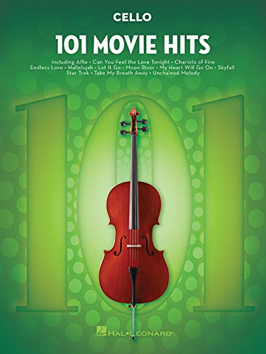 101 Movie Hits For Cello por Various