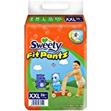 Sweety Fit Pantz Super Jumbo Pack Baby Diaper (Size: XXL - >17 KG, Count: 36)