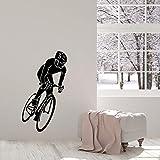 Sticker Mural 3D Moto Autocollants Muraux Imperméables Décoratifs Papier Peint Fitness Garçon Chambre D'Enfant Chambre Salon Maison