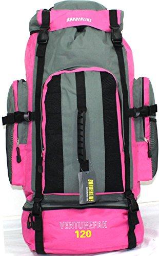 cdcbaee730 Borderline – Zaino da trekking, colore: Rosa rosa – TravelKit