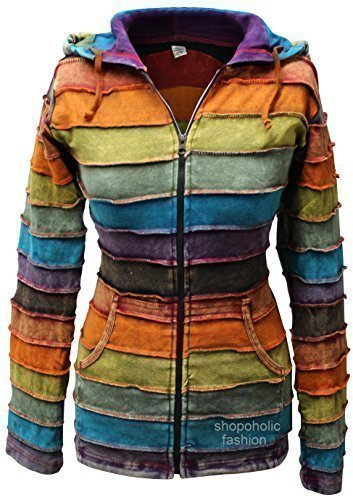 SHOPOHOLIC FASHION - Chaqueta - para Mujer Multicolor 38