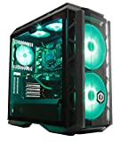 CyberpowerPC Ultra Luxe 1080Ti RGB Gaming PC - Intel Core i7-8700K, Nvidia GTX 1080Ti 11GB, 32GB RAM, Z370 Chipset, 480GB SSD, 2TB HDD, 600W 80+ PSU, Wifi, Liquid Cooling, Windows 10, CM H500P