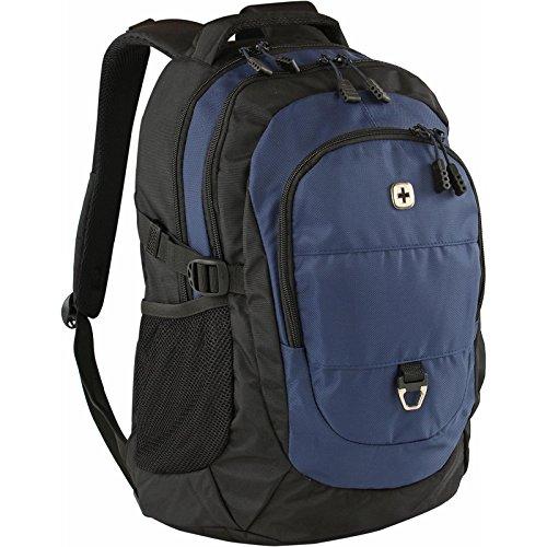 Wenger Backpacks Rucksack mit Tablet- und Laptopfach schwarz/blau