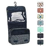 Somio Portable Travel Folding Make-up Kulturbeutel mit Haken Organizer Taschen Kosmetiktaschen für...