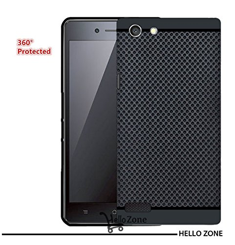Hello Zone Exclusive Dotted Design Soft Back Case Cover Back Cover For Oppo Neo 7