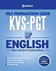 KVS PGT Self Preparation Guide English Recruitment Examination