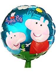 Peppa Pig Ballon (5 Pack pour € 7)