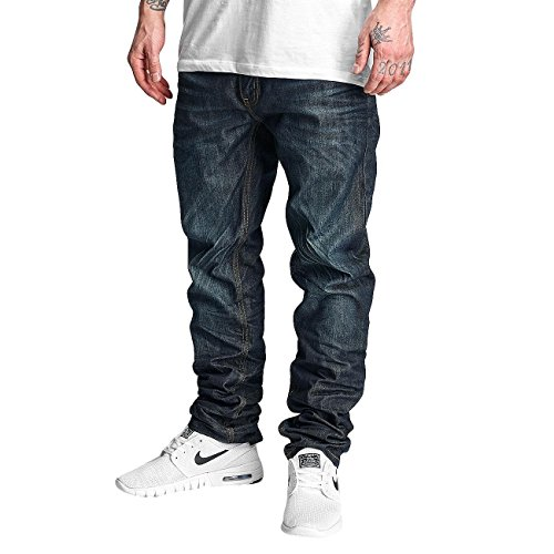 Rocawear Homme Jeans / Jeans Straight Fit Relax Bleu