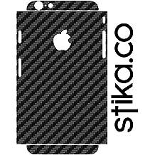 Textura Skin pegatinas para Apple iPhone 6 / 6S 12 cm, negro, 4.7