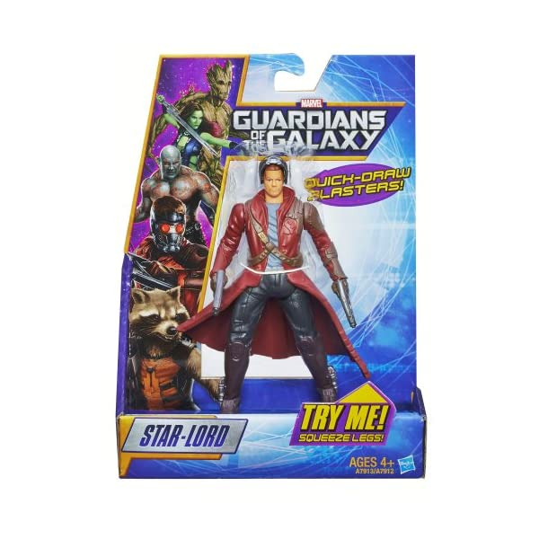 Marvel Guardianes de la Galaxia - Figura de Rapid Revealers Star Lord 2