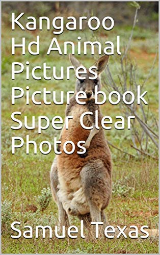 Kangaroo Hd Animal Pictures Picture book Super Clear Photos (English Edition)