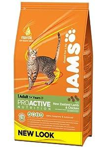 Iams Cat Adult Cat Food with Savoury Roast Chicken 3Kg