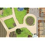 Bauernhof / Reiterhof Spielmatte (Spielteppich) für das Kinderzimmer - SM01 - Maße: ca. 150 x 100 cm