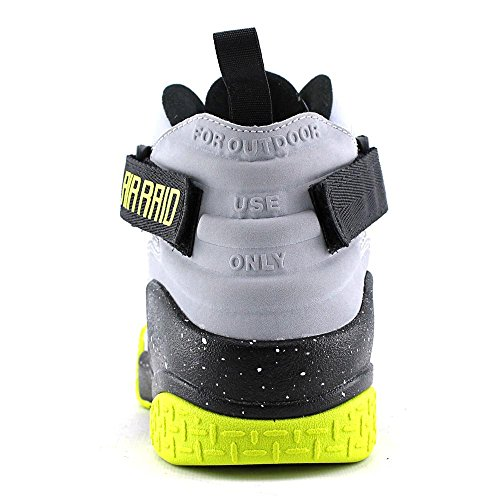 Nike Air Raid Mens Wolf Grey/Venom Green-Pure Platinum