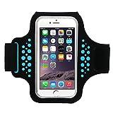 Brazalete Deportivo, Bandas para el Brazo Running Armband para Moviles iPhone 8 Plus/7 Plus/6 Plus, Samsung Galaxy S9/S8S7 Edge Teléfono Debajo de 5.8 Pulgada