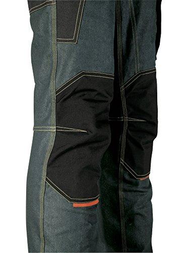 410d94aa851de U-power Platinum Button  Pantaloni - jeans da lavoro uomo con tasche  laterali multifunzione e porta ginocchiere - Triple cuciture