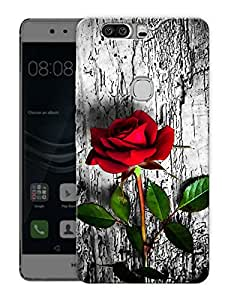 """Humor Gang Roses In WildPrinted Designer Mobile Back Cover For """"Huawei Honor V8"""" (3D, Matte Finish, Premium Quality, Protective Snap On Slim Hard Phone Case, Multi Color)"""