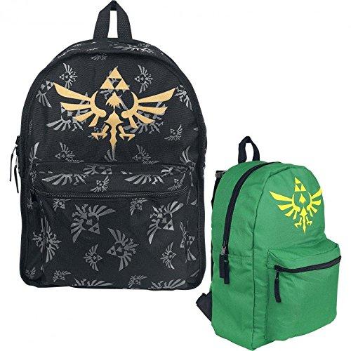 The Legend of Zelda Reversible Backpack Skyward Sword Bioworld