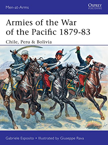 Armies of the War of the Pacific 1879-83: Chile, Peru & Bolivia (Men-at-Arms)