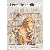 León de biblioteca (Bosque de libros)