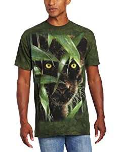 Wild Eyes Big Cat Wildkatze Erwachsenen T-Shirt in Größe XL von The Mountain