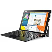 """Lenovo MIIX 510-12IKB - Tablet de 12"""" Full HD (Intel Core i3-6006U, 4 GB de RAM, 128 GB de SSD, camara de 5 MP, sistema operativo Windows 10, WiFi + Bluetooth 4.1) plata - teclado QWERTY español"""