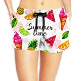 stretchy and breathable, comfy to skin, inner lining gives you good fit and good for all day wearing.swimwear trunks fit for summer beach, outdoor, swimming, casual wear, home, water related activity, etc. you can wear it with bikinis, short sleeve T...