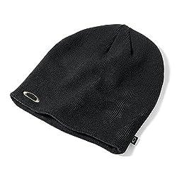 Oakley Men's Fine Knit Beanie, Jet Black, Size 0