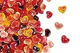 Feurige Herzen, Fruchtgummi in Herzform mit flüssiger Füllung im 500g Beutel