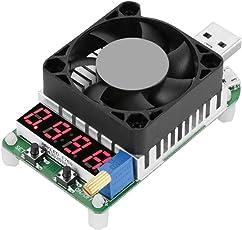 Akozon USB Load Tester Modul USB Power Meter Tester, USB-Lade, Entlade-Tester, LD35 USB Elektronische Last Digital Display Battery Test Einstellbare Widerstand Spannung Strom Meter