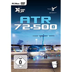 X – Plane 10 – ATR 72 – 500 (Add – On) – [PC/Mac]