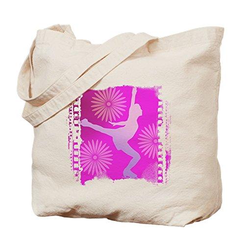 CafePress Tasche für Schlittschuhe, canvas, khaki, S