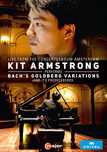 Kit Armstrong performs Bach´s Goldberg Variations (Concertgebouw, 2016)