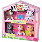 Furry Petz Bobble Head Pet Set- Cats And Dogs