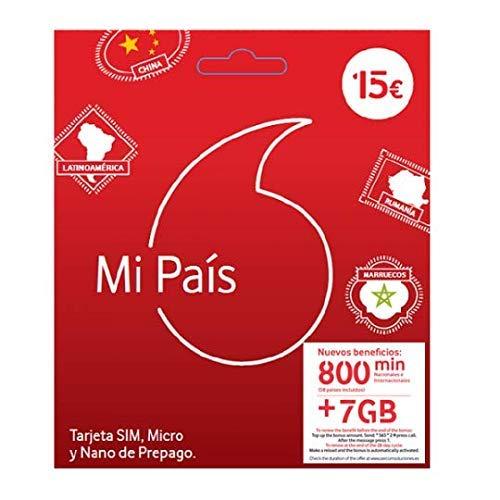 VODAFONE PREPAGO MI Pais 8 GB