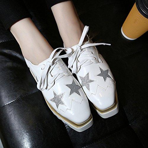 XTIAN , chaussures compensées femme Weiß