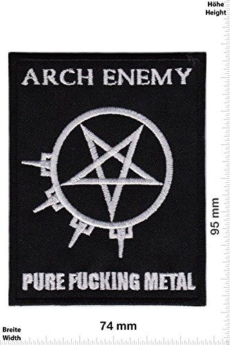 /Pure Fucking Metal Patch/ Arch Enemy parche/ /tejida /& licencia oficial.