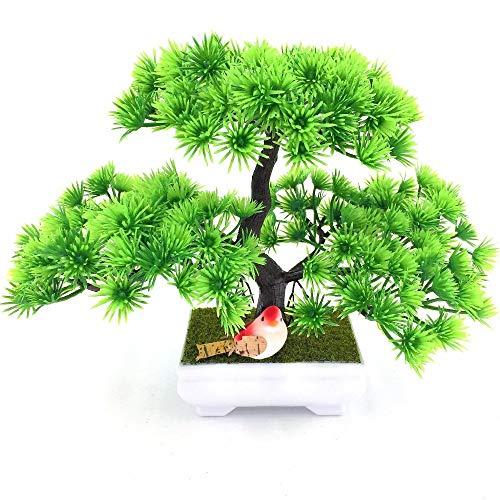 7°MR künstliche Pflanze 1 stück Einladende Kiefer Emulieren Bonsai Simulation Dekorative Künstliche Blumen Gefälschte Grüne Topfpflanzen Ornamente Wohnkultur