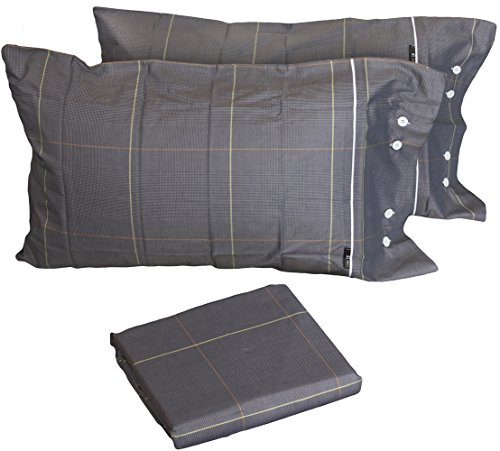 bossi-duvet-cover-pillowcases-to-buttons-double-bed-250x-200bag-tweed-dark-grey-100-pure-cotton