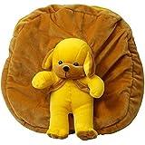 Prachi Toys Plush Soft Bag / Backpack / School Bag for Kids (Brown)