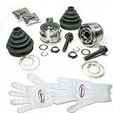 Autoparts-Online Set 60006165 2 x Gelenksatz Antriebswelle + Achsmanschette + Zubehör Vorne