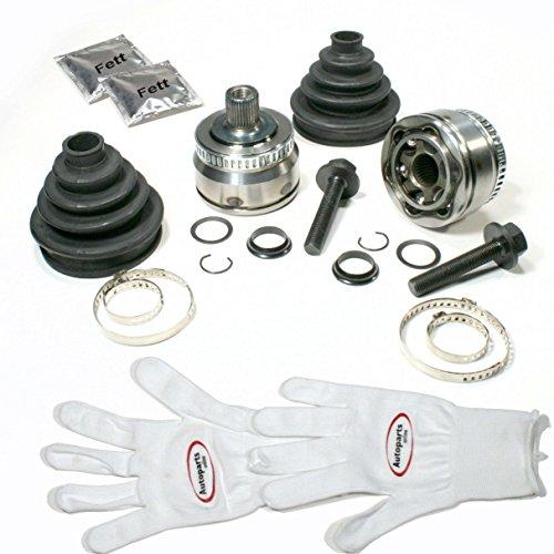 Autoparts-Online Set 60006169 2 x Gelenksatz Antriebswelle + Achsmanschette + Zubehör vorne