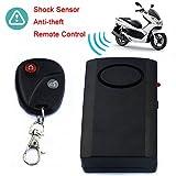 Tookie Diebstahlsicherung mit Alarm für Motorroller und Roller, mit Fernbedienung, Schlüsselanhänger, Tür, Fenster