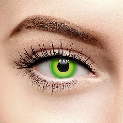 en Farbige Kontaktlinsen Ohne Stärke von Eye Fusion Coloured Contact Lenses Hulk 82828 ()