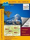 Alpenwelt Karte Zillertal - Zell Gerlos