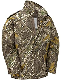 M65 Military Field Jacket With Removable Quilted Inner Liner-Tree Bark Camouflage