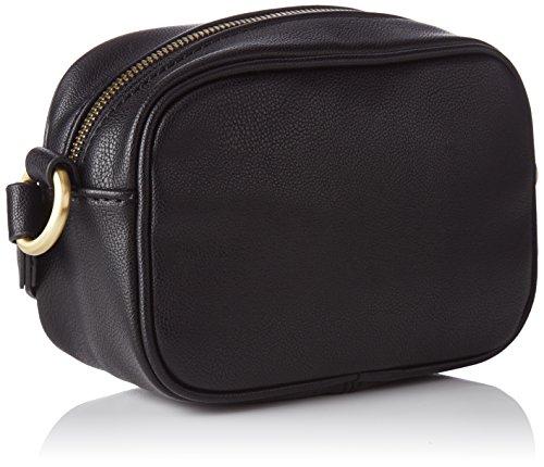 edc by Esprit - 087ca1o001, Borse a spalla Donna Nero (Black)
