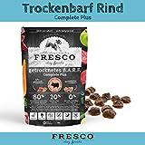 Fresco Hundefutter getreidefrei Trockenfutter für alle Hunde Viel Fleisch Barf artgerecht & unkompliziert Trockenbarf Complete Plus Rind 2,5kg
